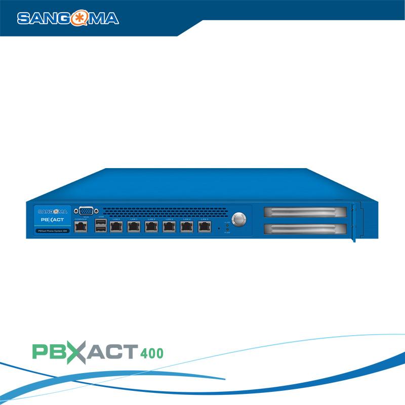 Tổng đài IP SANGOMA PBXACT UC 400 / 150 Simultaneous Calls