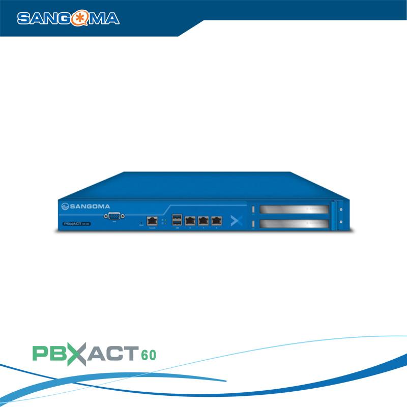 Tổng đài IP SANGOMA PBXACT UC 60 / 40 Simultaneous Calls