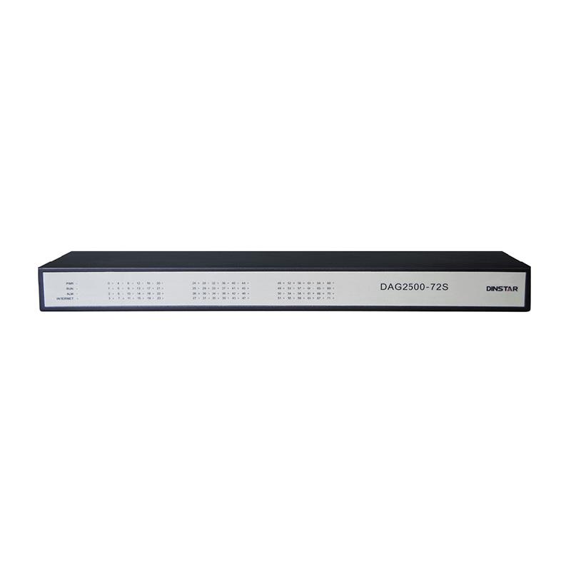 Analog VoIP Gateway Dinstar DAG2500-72S