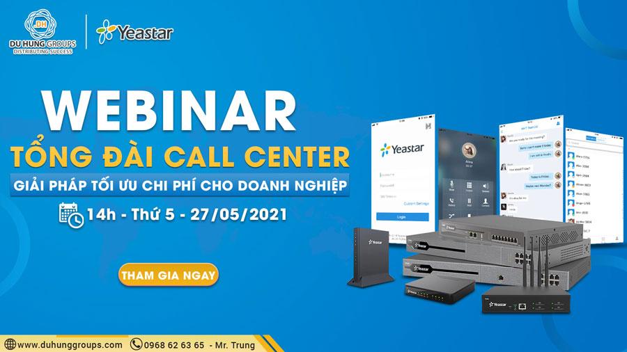 Webinar - Tổng đài Call Center Giải Pháp Tối ưu Chi Phí Cho Doanh Nghiệp